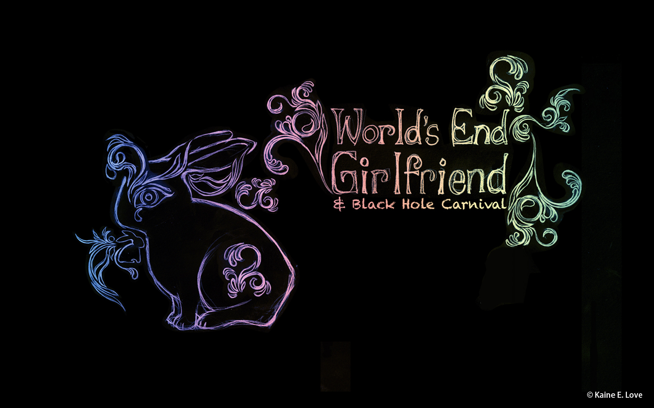World's End Girlfriend Wallpaper designed by Kaine