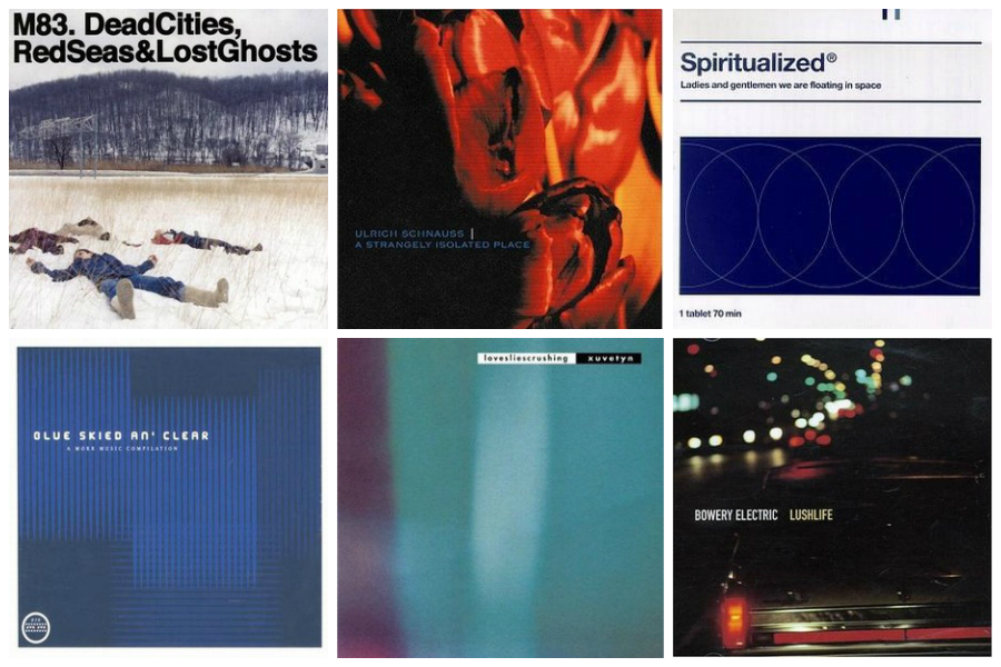 shoegaze album covers