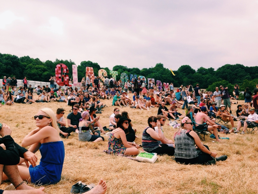 Glasto audience 2 by Taylor Xu