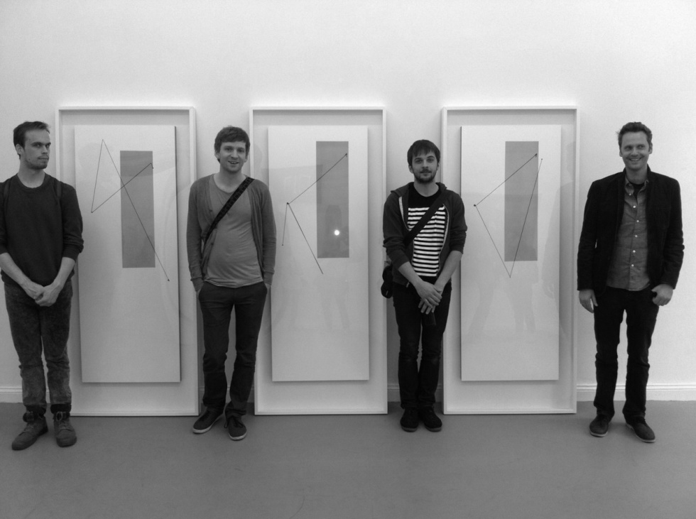 Peter-Broderick-Ólafur-Arnalds-Nils-Frahm-Dustin-OHalloran-at-Stuart-Bailes-exhibition-in-Berlin-2011_photo-by-Robert-Raths-980x731