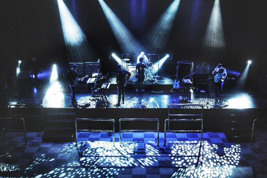 Wild Beasts sh soundcheck 1