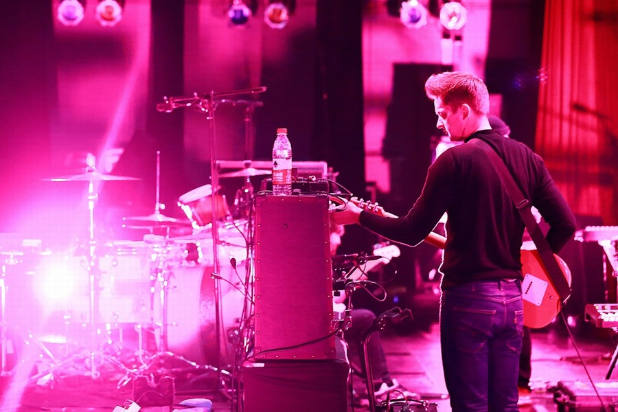 Wild Beasts sh soundcheck 2