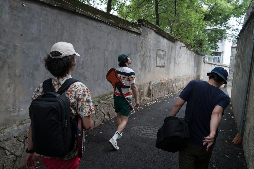 The Romp walk in Cangshan, Fuzhou.