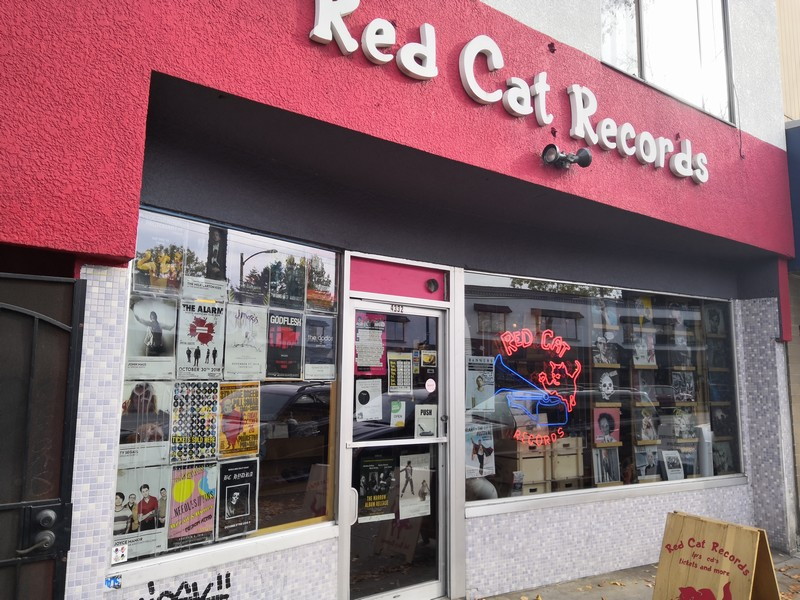 Red Cat Main St outside