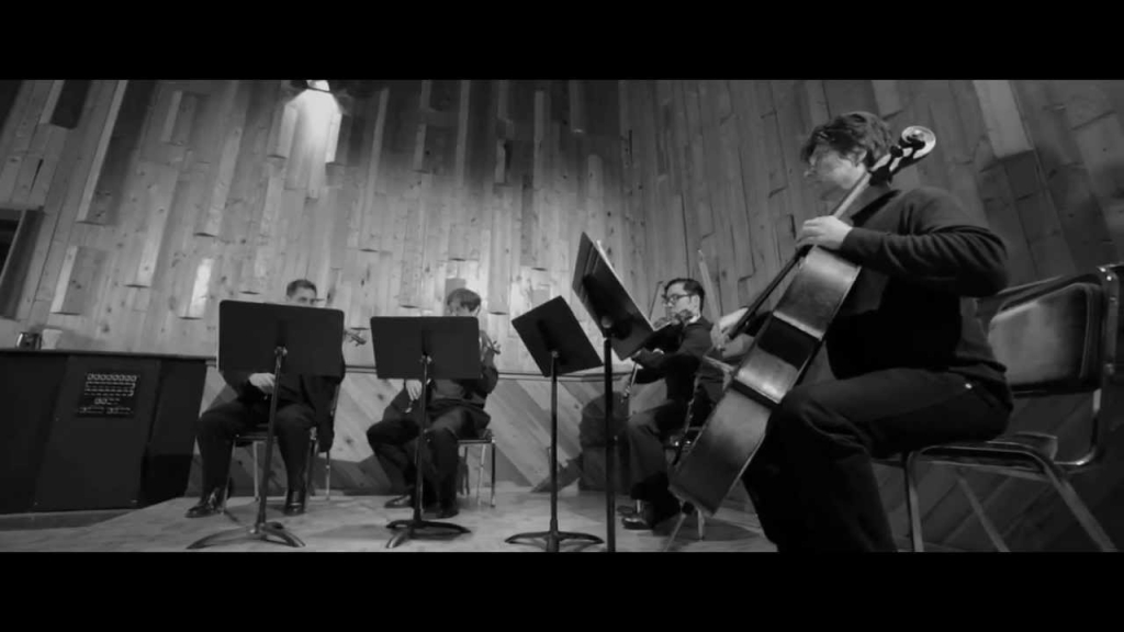 Yaletown String Quartet plays 'Dancing in the Dark' by Junshuo (Jason) Hou